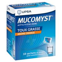 Mucomyst 200 Mg Poudre Pour Solution Buvable En Sachet B/18 à TOURNAN-EN-BRIE