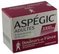 Aspegic Adultes 1000 Mg, Poudre Pour Solution Buvable En Sachet-dose 15 à TOURNAN-EN-BRIE