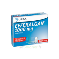 Efferalgan 1000 Mg Comprimés Pelliculés Plq/8 à TOURNAN-EN-BRIE