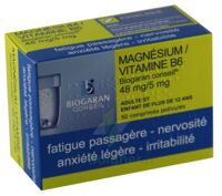 Magnesium/vitamine B6 Biogaran Conseil 48 Mg/5 Mg, Comprimé Pelliculé à TOURNAN-EN-BRIE