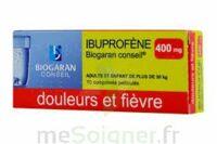 Ibuprofene Biogaran Conseil 400 Mg, Comprimé Pelliculé à TOURNAN-EN-BRIE