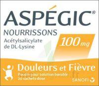 Aspegic Nourrissons 100 Mg, Poudre Pour Solution Buvable En Sachet-dose à TOURNAN-EN-BRIE