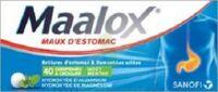 Maalox Hydroxyde D'aluminium/hydroxyde De Magnesium 400 Mg/400 Mg Cpr à Croquer Maux D'estomac Plq/40 à TOURNAN-EN-BRIE
