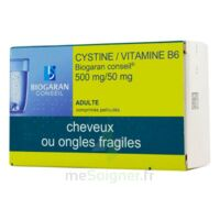Cystine/vitamine B6 Biogaran Conseil 500 Mg/50 Mg Cpr Pell Plq/120 à TOURNAN-EN-BRIE