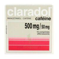 Claradol Cafeine 500 Mg/50 Mg, Comprimé Effervescent à TOURNAN-EN-BRIE