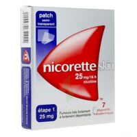 Nicoretteskin 25 Mg/16 H Dispositif Transdermique B/28 à TOURNAN-EN-BRIE