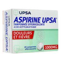 Aspirine Upsa Tamponnee Effervescente 1000 Mg, Comprimé Effervescent à TOURNAN-EN-BRIE