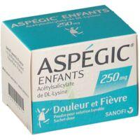 Aspegic Enfants 250, Poudre Pour Solution Buvable En Sachet-dose à TOURNAN-EN-BRIE