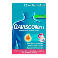 Gavisconell Suspension Buvable Sachet-dose Menthe Sans Sucre 12sach/10ml à TOURNAN-EN-BRIE
