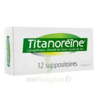 Titanoreine Suppositoires B/12 à TOURNAN-EN-BRIE