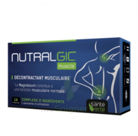 Nutralgic Muscle Comprimés Décontractant Musculaire B/14 à TOURNAN-EN-BRIE