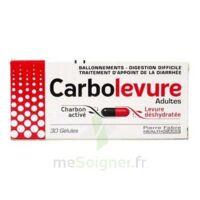 Carbolevure Gélules Adulte Plq/30 à TOURNAN-EN-BRIE