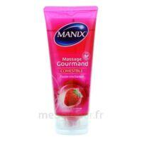 Manix Gel Comestible De Massage Fraise 200ml à TOURNAN-EN-BRIE