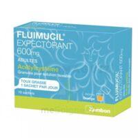 Fluimucil Expectorant Acetylcysteine 600 Mg Glé S Buv Adultes 10sach à TOURNAN-EN-BRIE