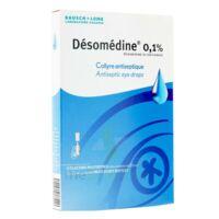 Desomedine 0,1 % Collyre Sol 10fl/0,6ml à TOURNAN-EN-BRIE