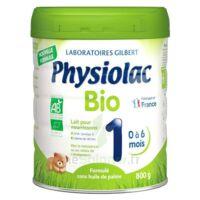 Physiolac Bio 1 Lait En Poudre B/800g à TOURNAN-EN-BRIE